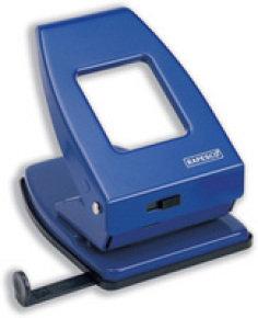 Rapesco 835 2-Hole Metal Punch (40 Sheets) (blue)