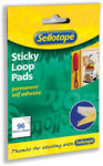 SELLOTAPE STICKY LOOP PADS PK96 4544