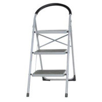 STEP LADDER 3 TREAD GREY/BLUE 359294
