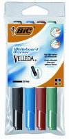 Bic Velleda Whiteboard Marker Assorted 4 Pack