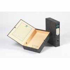 El Classic Boxfile Locksprng A4 Bk 30145 - 5 Pack