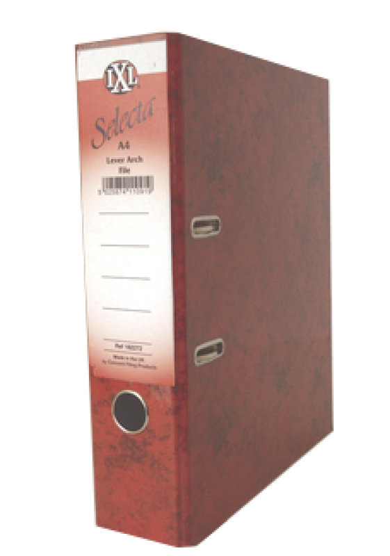 Concord Ixl Selecta Larch File A4 Red - 10 Pack