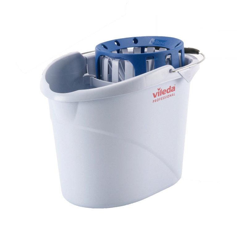 Vileda Supermop Bucket and Wringer Blue