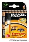 Duracell Plus AAA Alkaline Batteries - 16 Pack