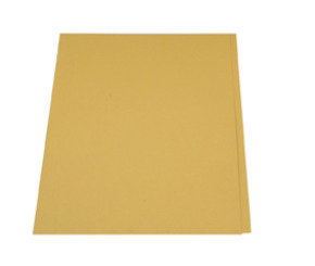 Guildhall Square Cut Folder 315g Yellow - 100 Pack