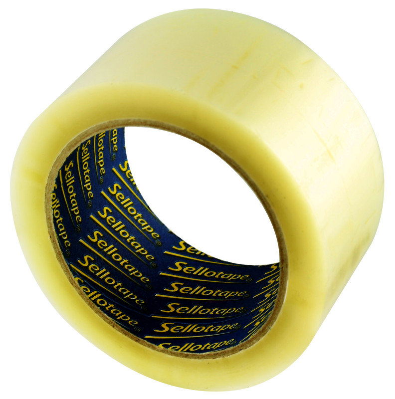 Sellotape Case Sealing Tape 50mmx66m - 6 Pack