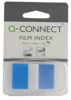 Q CONNECT PAGE MARKER 1IN 50 SHTS BLUE