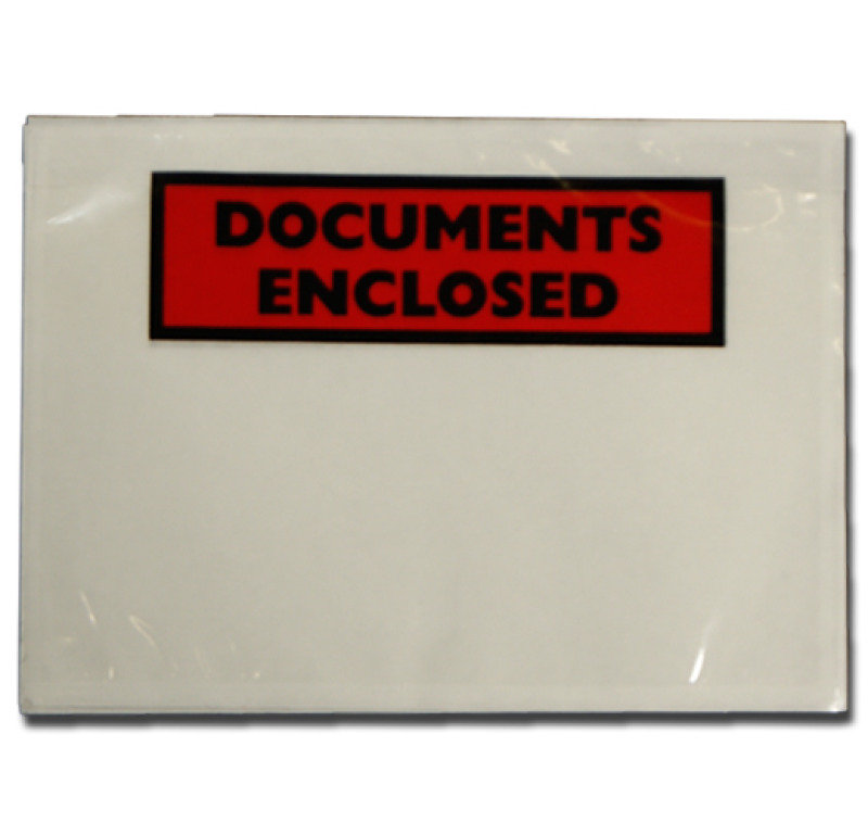 Image of Documents Enclosed DL Envelopes (Pack of 1000)
