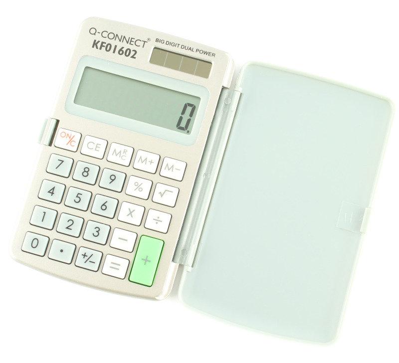 Q Connect 8 Digit Pocket Calculator