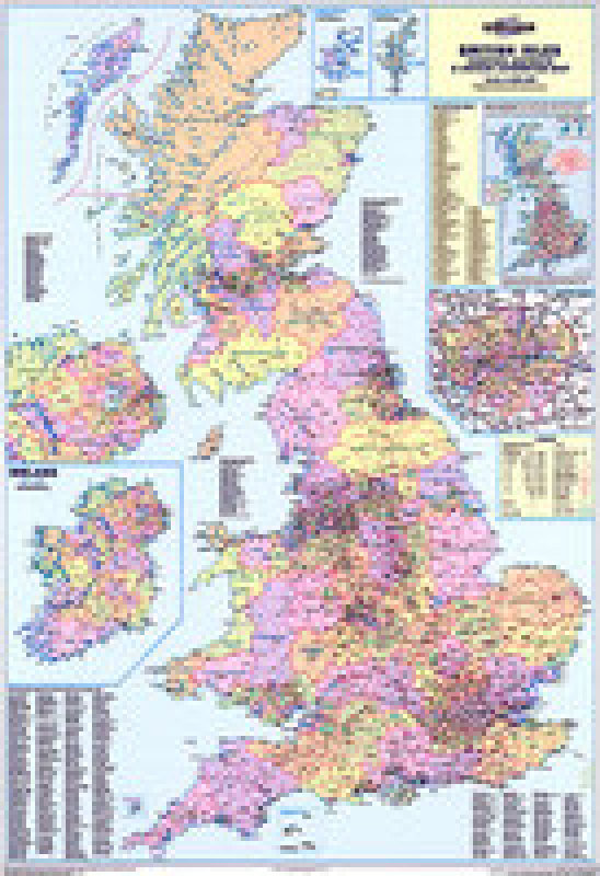 Image of MAP COUNTIES AND UNITARY AUTHORITIES MAP