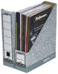 Fellowes Grey/White Bankers Box Premium Magazine File (Pack of 10)