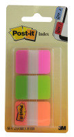 3M POSTIT STRONG INDEX PK66 PK GRN ORG