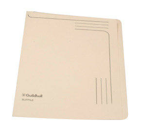 *Guildhall Slipfile 12.5x9in Cream 14609 - 50 Pack