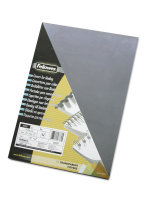 Fellowes Transparent Plastic Cover A4 100 Pack