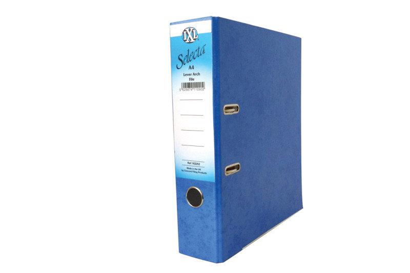 Concord Ixl Selecta Larch File A4 Blue - 10 Pack