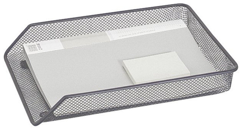 Q-Connect Mesh A4 Letter Tray Silver