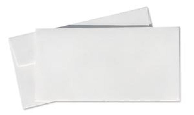Image of CONQUEROR WOVE DL ENVELOPE HI WHITE P500