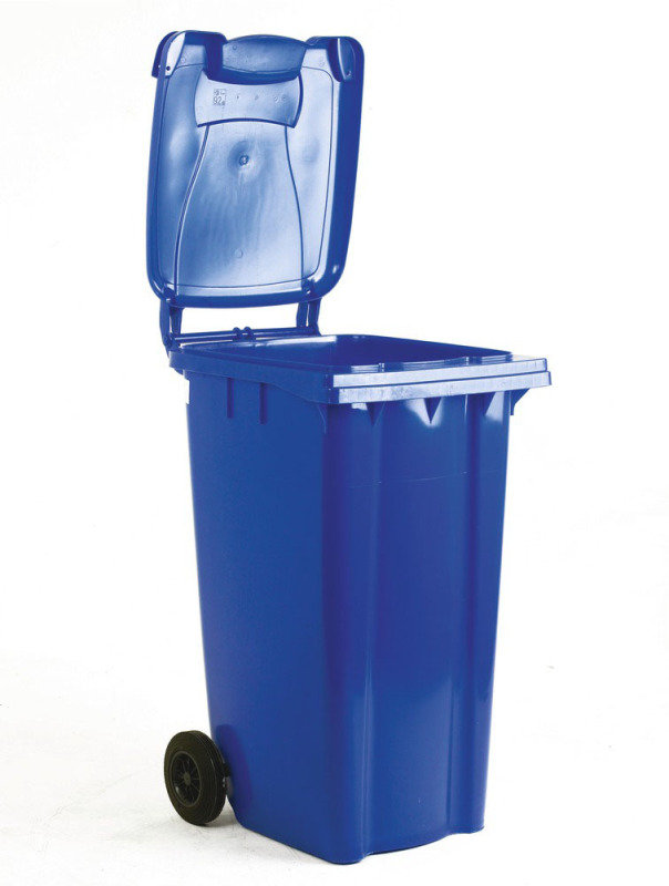 FD REFUSE CONTAINER 360L 2 WHLD BLU 33