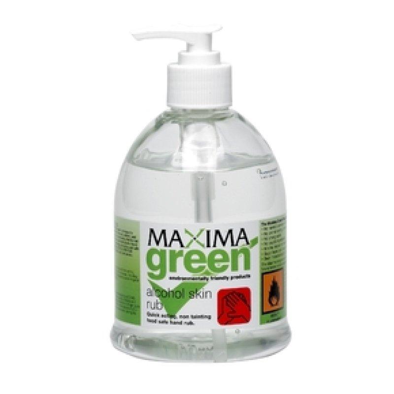 Image of Maxima Alcohol Skin Sanitiser 450ml - 2 Pack