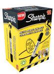 Sharpie Metal Perm Marker Lrg Chisel Blk - 12 Pack