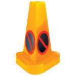 CONE NO WAITING WEIGHTED YELLOW 0555001