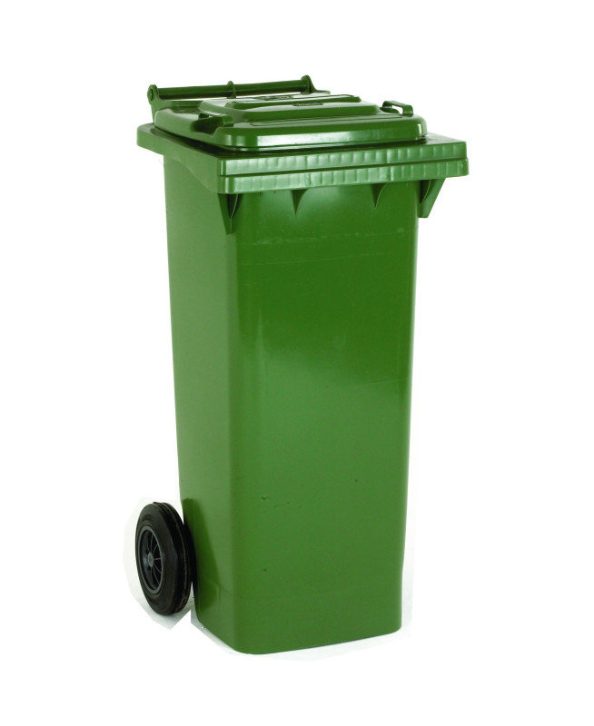FD REFUSE CONTAINER 80L 2 WHLD GRN 331