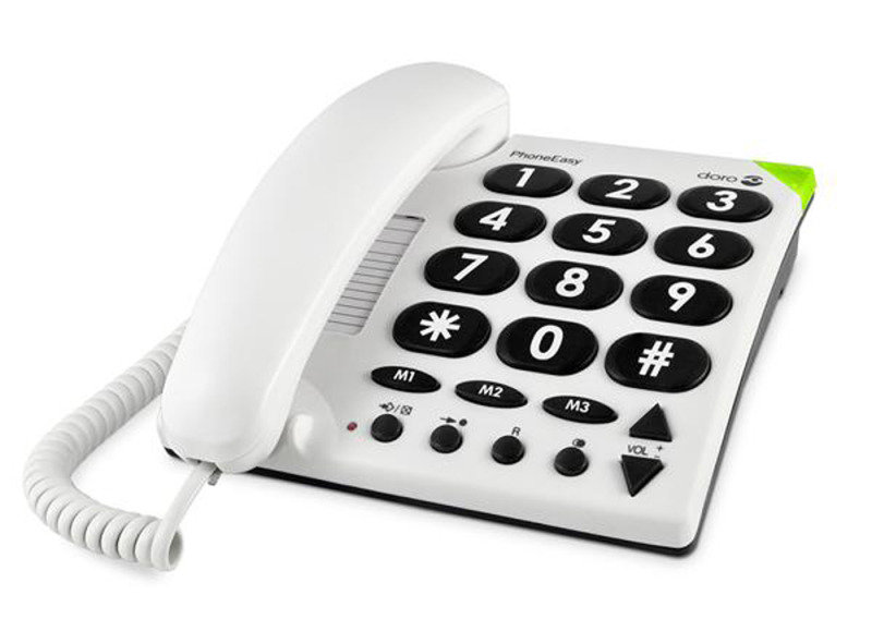 Doro 311C Big Button Telphone - White