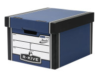 Fellowes R-kive Premium Presto Storage Box Blue