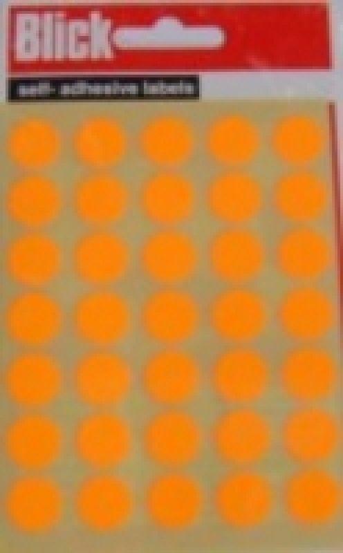 Blick Label Fluo Bag 13Mm Org 140 004356 - 20 Pack