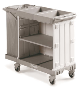 Compact Grey Maid Service Trolley 800