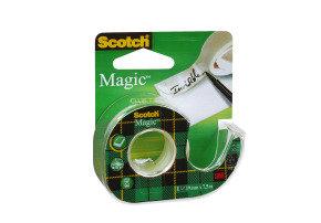 Scotch Magic Tape 19mmx7.5m Clr 81975d - 12 Pack