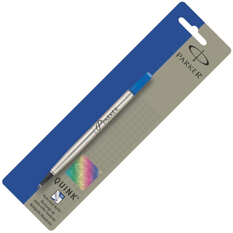Parker Rollerball Refill Medium Blue - 12 Pack