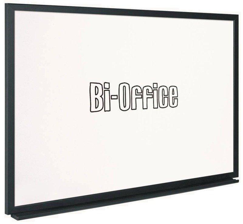 BI-SILQUE WHITEBOARD 900X600 BLACK FRAME