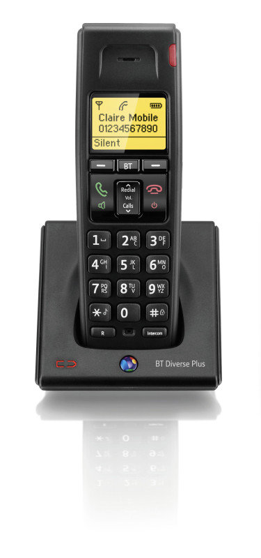 BT Diverse 7100 Plus Dect Handset - Single