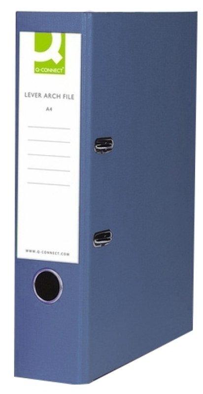 Q Connect L/arch File Fc Polyprop Blu - 10 Pack