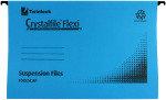 Crystal File Flexi Standard Fc Blue Pk50