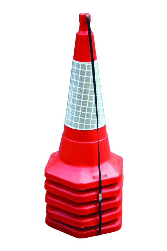 Image of JSP 75CM/30IN STD ONE PIECE CONE PK5 RED
