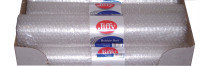 Jiffy Sml Bub Mini Roll 500mx3M Clear - 20 Pack