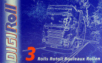 Premier Rolls for Digital Tachograph 57mmx9.5m (Pack of 3)