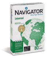 Navigator Universal A4 80GSM White Paper - 2,500 Sheets (5 Reams)