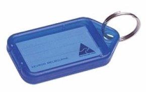 Clicktag Plastic Blue Pk100 Kevron Id5b