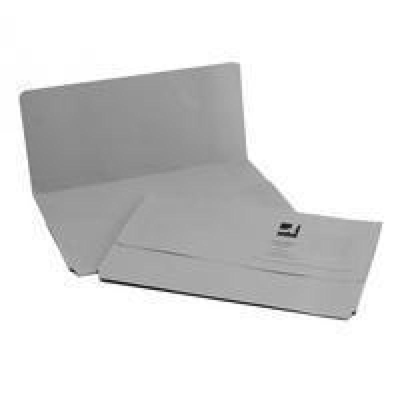 Q Connect Document Wallet Fc Grey - 50 Pack