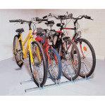 FD CYCLE RACK 3 BIKE CAP ALUMINIUM 309