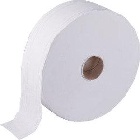 MAXIMA JUMBO ROLL WHITE 2PLY 410M PK6