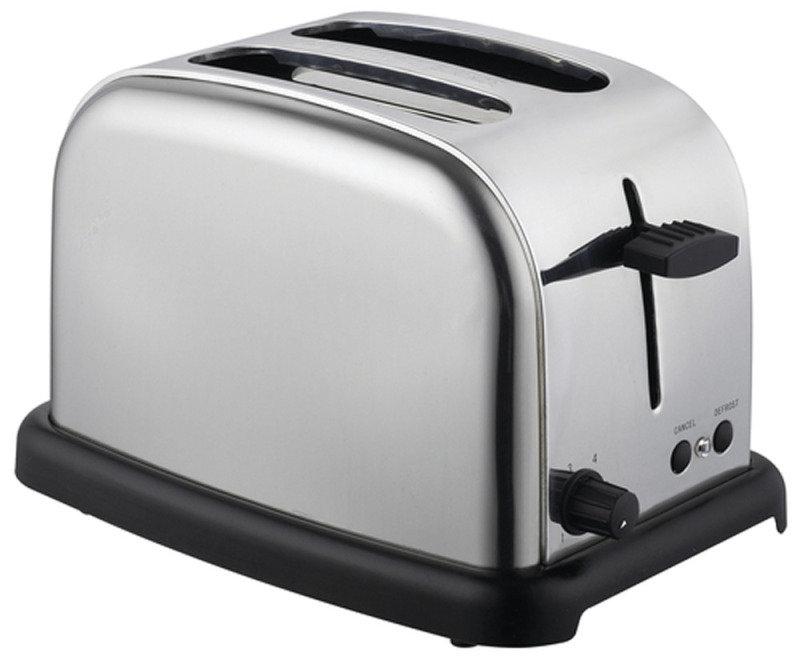 Frigidaire FCL103H 2 Slice Steel Toaster