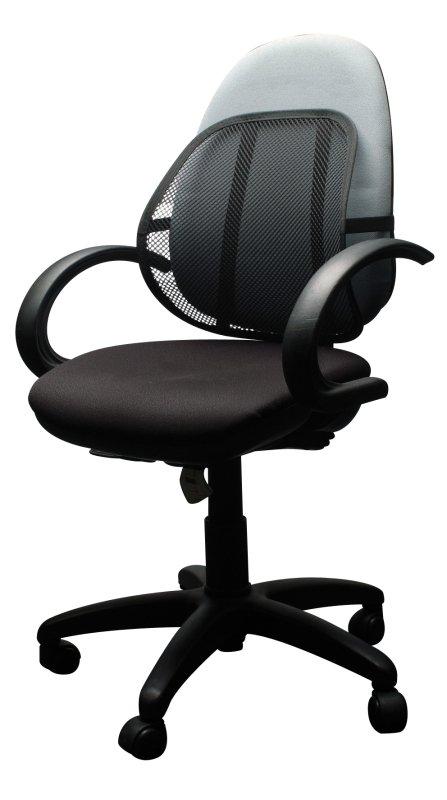 QConnect Black Mesh Back Support