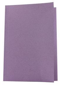 Guildhall Squarecut Folder Mauve - 100 Pack