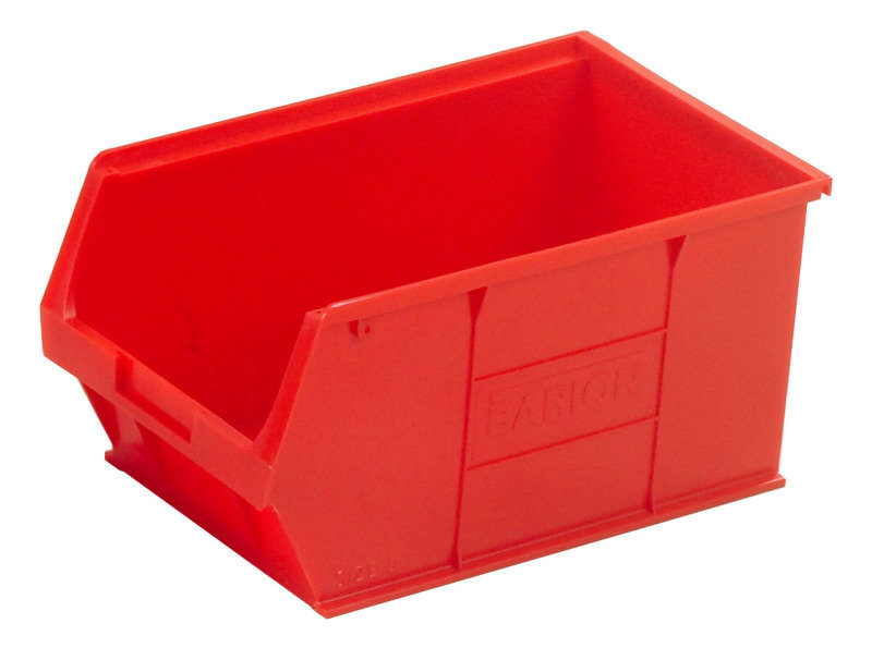 Image of Barton Red Small Parts Container 12.8 Litre