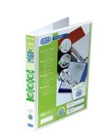 Elba Panorama A4 Presentation Binder 4D-Ring 25mm White