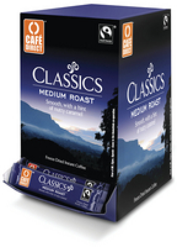 Image of Cafe Direct Fair Trade Freeze Dried Coffee Sticks - 250 Pack